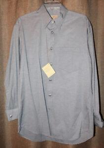 38e94685 Men's Stubbs Western Wear Long Sleeve Shirt NWT Gray Black Metal ...