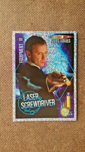 Doctor Who;  Alien Armies Glitter Foil Cards Collection