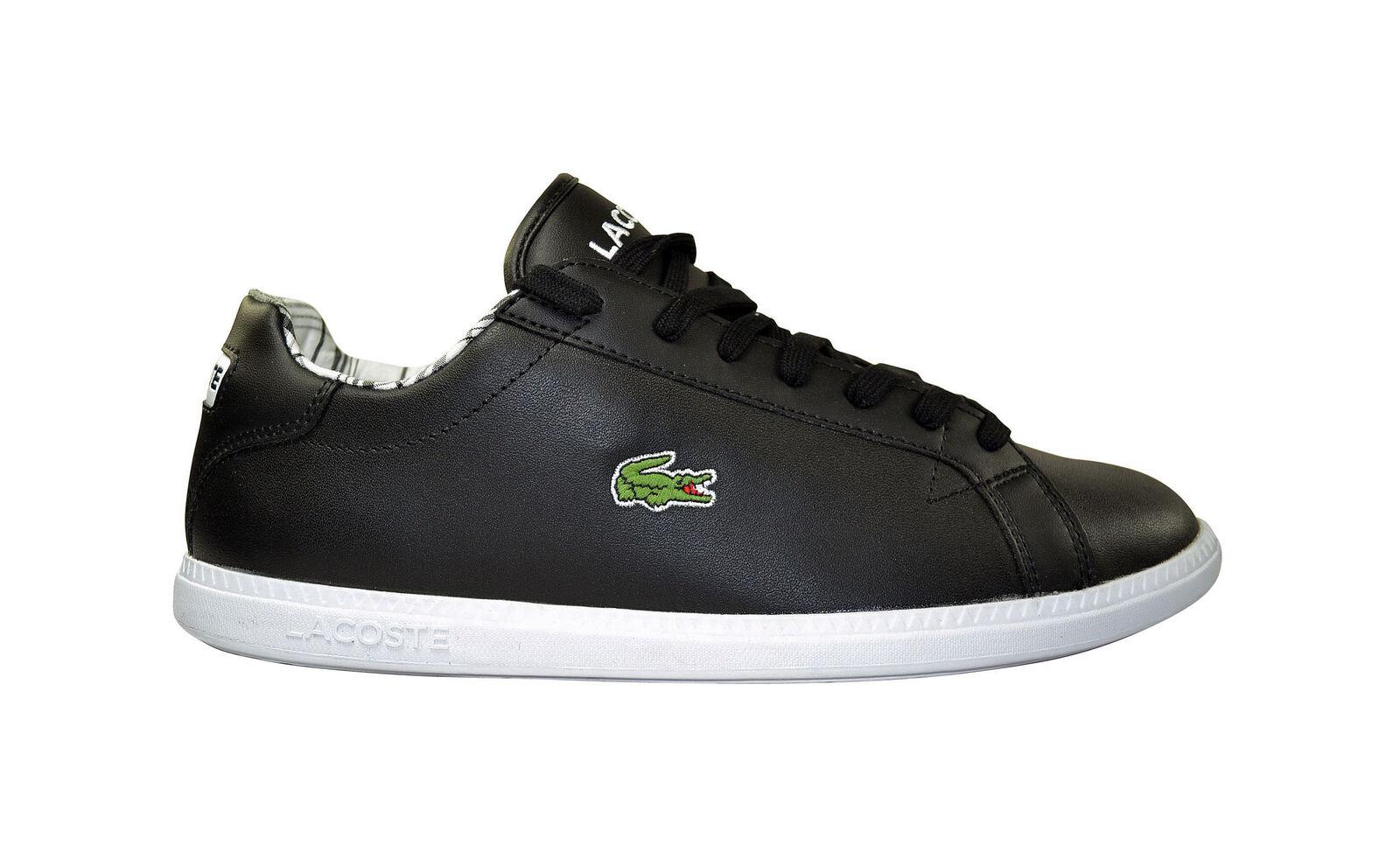 Lacoste black Graduate BHH SPM black Lacoste Schuhe/Sneaker neues Modell schwarz d7d7b3
