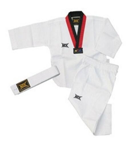 MOOTO MTX Korea TaeKwonDo POOM UNIFORM White BELT TKD uniforms Dobok TAE KWON DO