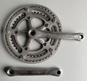 Vintage-Nervar-Crankset-9-16-42-52-Peugeot-Carbolite-103