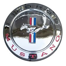 Ford Mustang Chrome Wall Plaque Sign  GT Mach 1 Cobra
