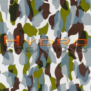 "HYDROGRAPHIC FILM FOR HYDRO DIPPING WATER TRANSFER FILM DIRTY CAMO - 19"" x 38.5"""