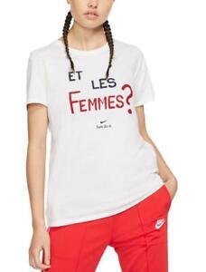 tee-shirt large femme nike
