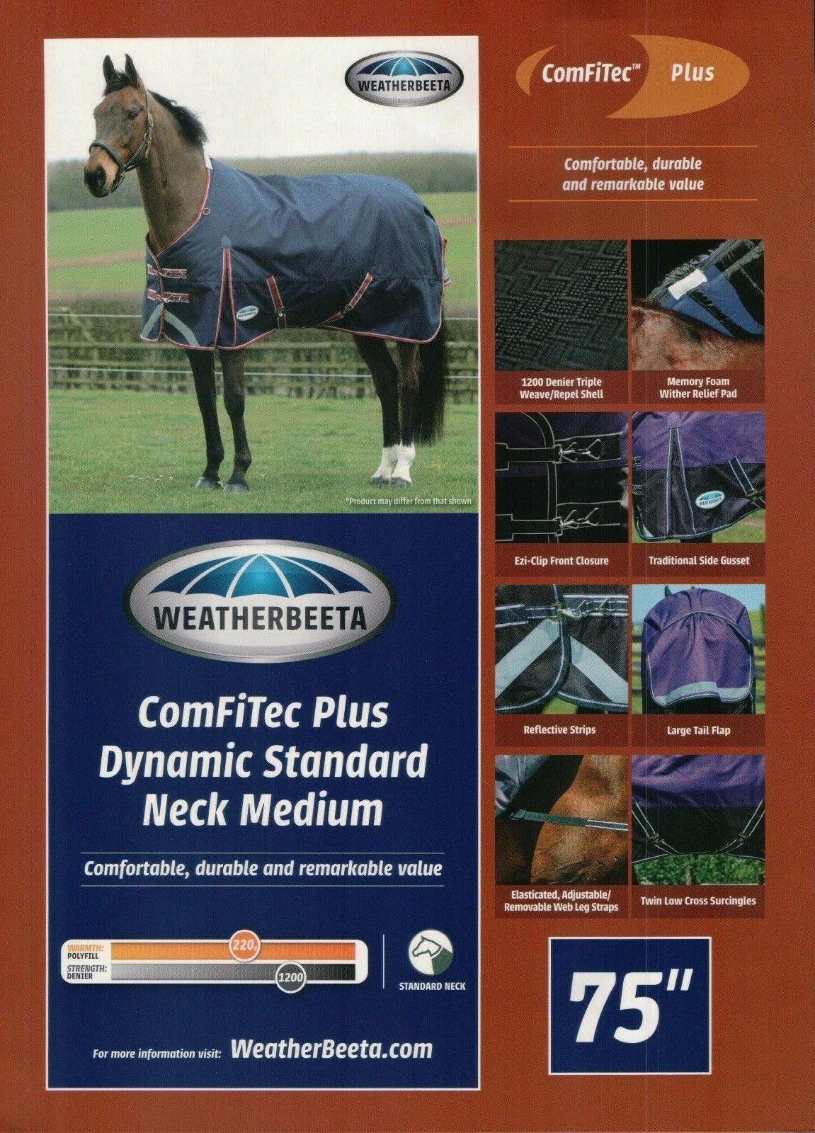 WeatherBeeta ComFiTec Plus Dynamic Steard Neck Medium Weight 81 Blanket