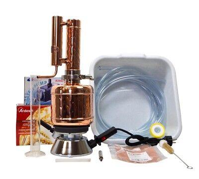 Radient Coppergarden® Destille Easy Moonshine ❁ 2 L ❁ Sorgenfrei Vollausstattung 2018