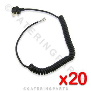 * Acheter En Vrac * Paquet De 20 X Mf01 Ondulé 1-2m Secteur Flex Câbles 13a Artisanat D'Art