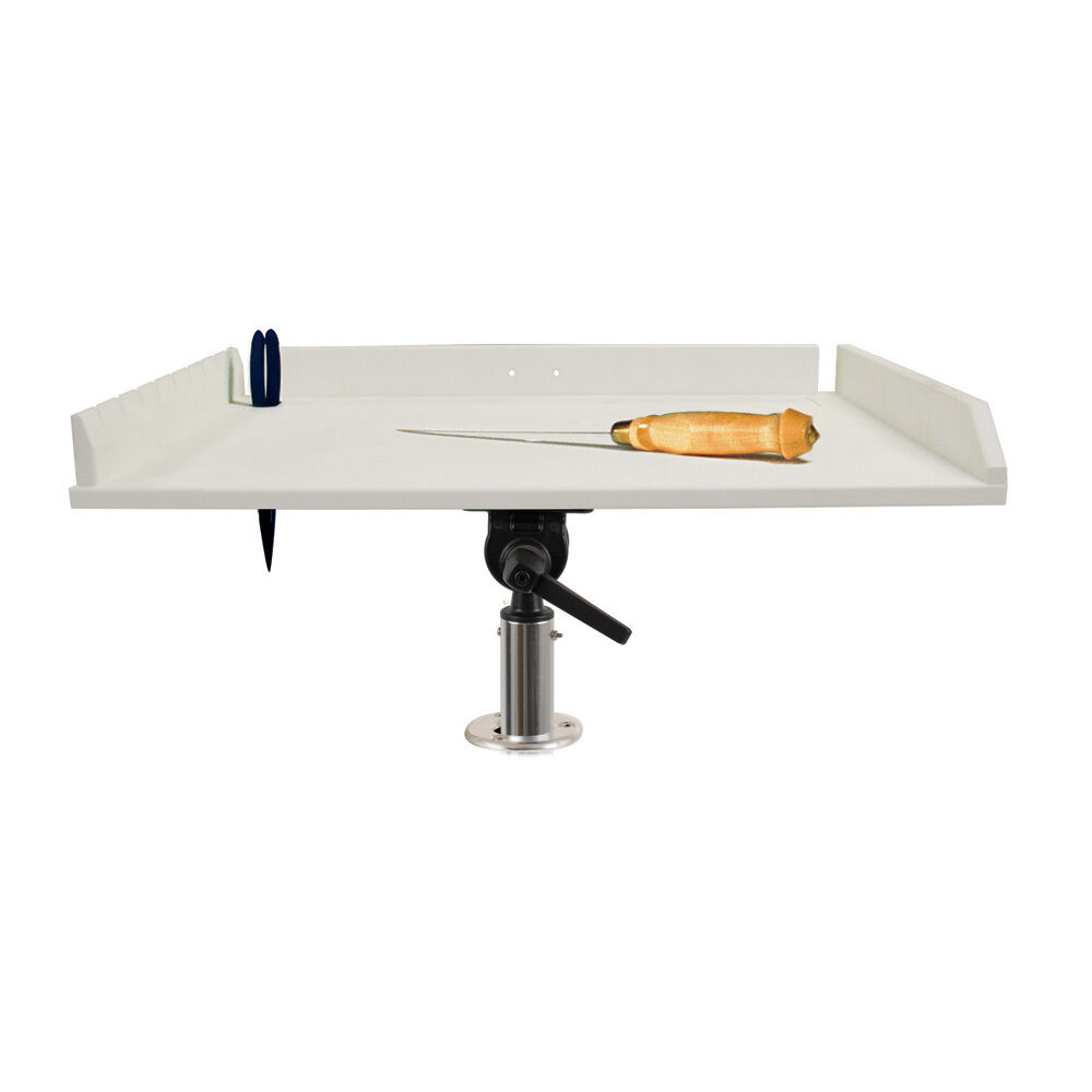 TACO 32    Poly Filet Table w Adjustable Gunnel Mount - White model P01-2132W  wholesale price and reliable quality