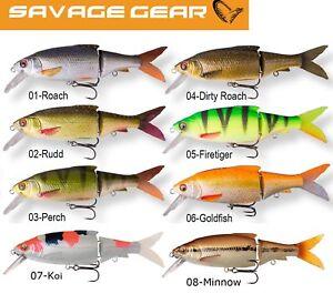 Savage-Gear-3D-Roach-Lipster-Kunstkoeder-fuer-Hecht-und-Zander-Wobbler