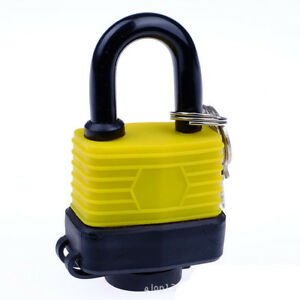Yellow-1-1-2-034-Keyed-alike-Padlocks-Padlocks-Keyed-Alike-Laminated-Steel-Padlocks