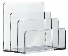 Letter paper Holder Acrylic office organizer tools stationery desk accessories