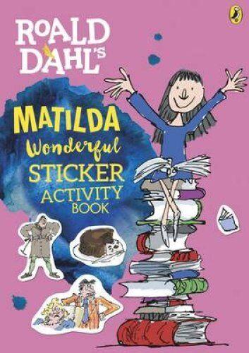 Roald Dahl's Matilda Wonderful Sticker Activity Book by Penguin Books Ltd...