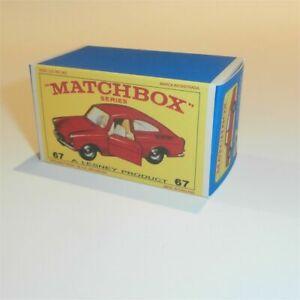 Matchbox-Lesney-No-67-VOLKSWAGEN-1600TL-empty-Repro-Box-style-E