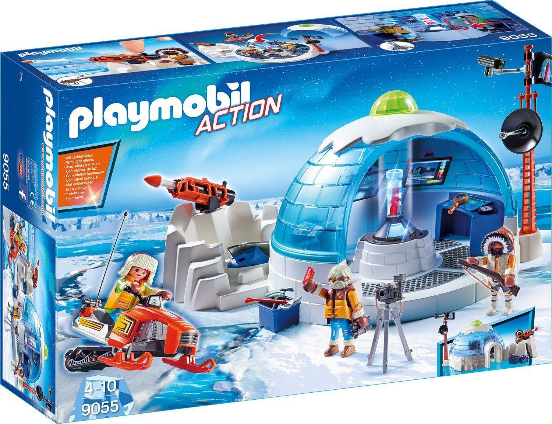 Playmobil - Action - 9055 - Polar Ranger Hauptquartier - NEU OVP