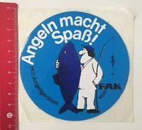 Aufkleber/Sticker: Angeln Macht Spaß Mit Angelgeräten Von FAK (21041685)