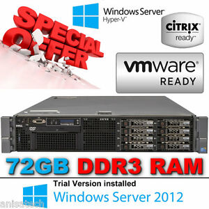 Dell-PowerEdge-R710-SixCore-XEON-E5645-2-40GHz-72GB-Perc6i-146GB-2-5-034-10K-SAS