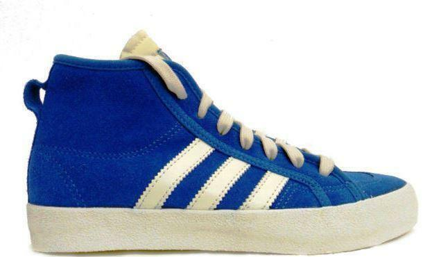 Femme ADIDAS HONEY MID Bleu suede formateurs g64244 UK 4.5 / eur 37 1/3-