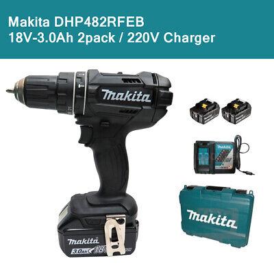MAKITA DHP453Z LXT 18 V Combi Perceuse batterie 3Ah BL1830B BL1830