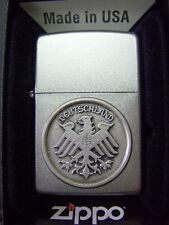 Zippo Sturmfeuerzeug Deutschland Bundesadler Chrom Emblem