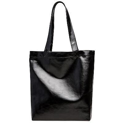 CASPAR TS1047 Damen metallic Glanz Tasche Handtasche City Shopper Schultertasche
