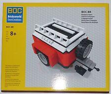 Lego® BOC Camping Anhänger Camper Gepäck f. LEGO #10220 VW Bulli T1