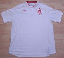 ENGLAND 2012-2013 HOME UMBRO FOOTBALL SOCCER SHIRT JERSEY XXL ADULT