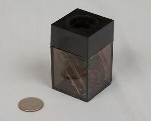 2x Paper Clip Dispenser Magnetic Holder Caddy for office school home new BK