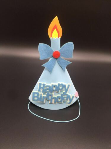 HAPPY BIRTHDAY Hat Kids Birthday PARTY HAT Candle Decoration