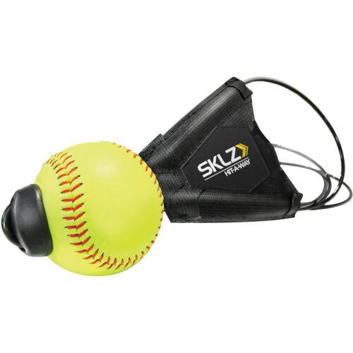Black//Yellow SKLZ Hit-A-Way Softball Swing Trainer