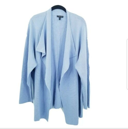 Eileen fischer 3x interlock sweater cardigan women
