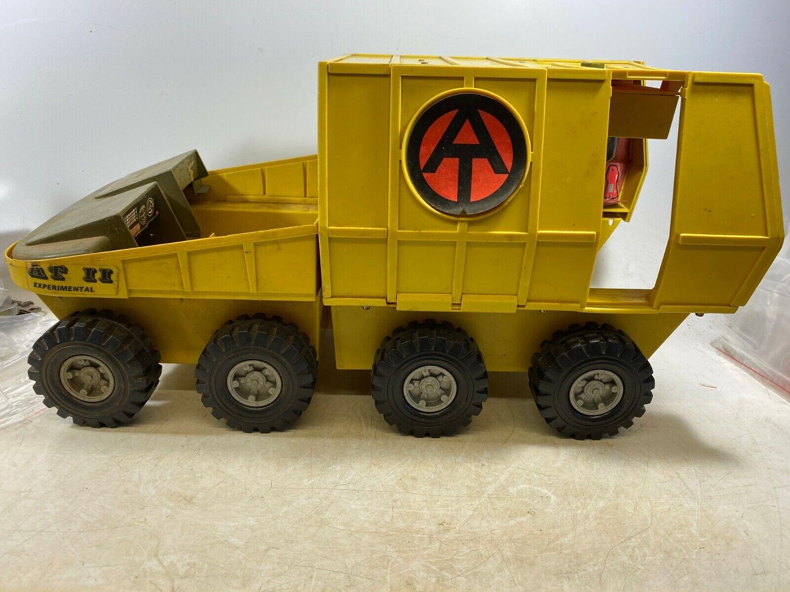 Vintage GI Joe Adventure squadra AT II Experiessital Mobile Support Vehicle 1972