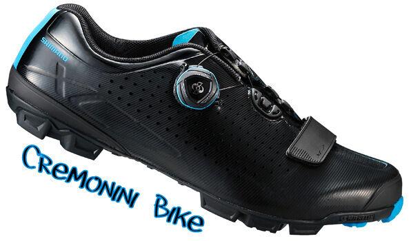 SHIMANO scarpe mountain bike mtb BOA suola MICHELIN scarpe man Dimensione 46 SPD 11.2