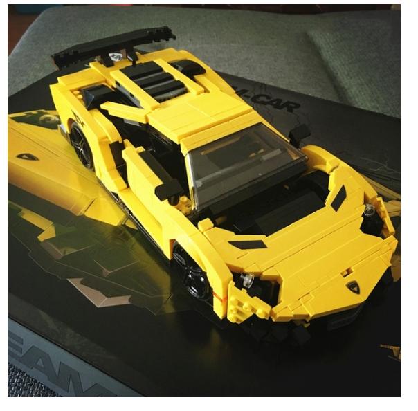 consegna veloce e spedizione gratuita per tutti gli ordini LEGO Lamborghini Gtuttiardo LP 560-4 8169 8169 8169 Replica 924PCS FACTORY DIRECT   all'ingrosso a buon mercato