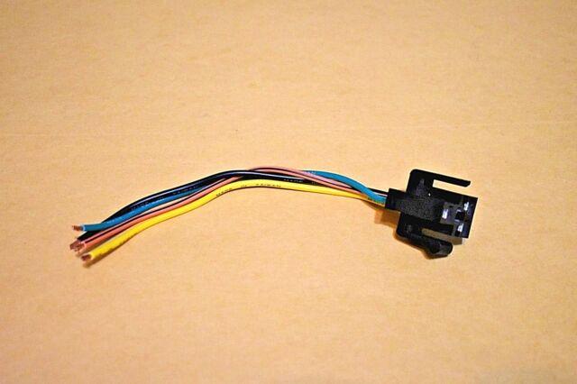 HVAC Blower Motor Resistor Connector Front Standard S-630