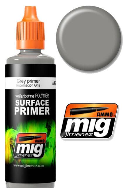 Grey Surface Primer - Primer Grigio Flacone 60 ml. 2002 AMMO BY MIG JIMENEZ