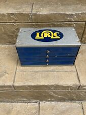 Vintage Irc Metal Storage Case 4 Drawer Cabinet