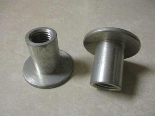 """5//8-11 Grinding Wheel Retaining Nuts Extra Long For 7//8/"""" Arbor Hole 2 Pcs New"""