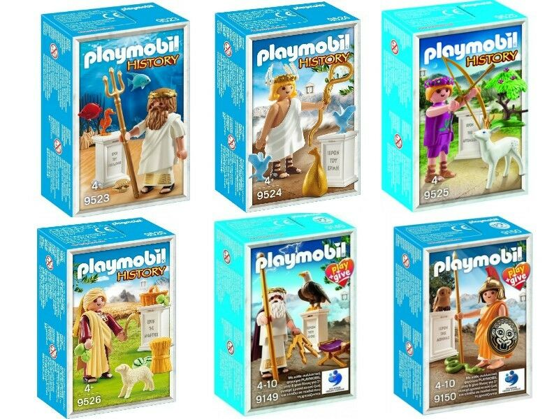 COLLECTIBLES Playmobil History Ancient Greek Gods 9523,9524,9526,9149,9150 BOXED