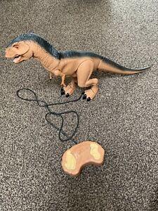 Contrôle à Distance Grand 29 Cm X 53 Cm Long Tyrannosaurus Rex Dinosaur. Walks & Roars-afficher Le Titre D'origine Le Prix Reste Stable
