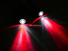 RC Racing Drone Quad LIGHT SYSTEM POWERFUL 10mm HALO LED  - RED - WHITE HALO