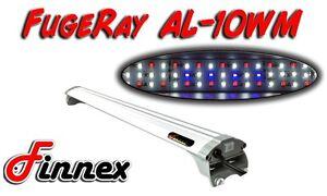 """Finnex FugeRay Ultra Slim 10"""" AL-10WM Aquarium LED Lighting Fixture"""