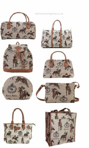 Horse Racing Themed Fashion and Travel Bags Nice Quality Branded UK Products