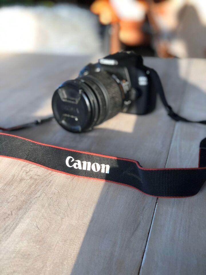Canon, Canon EOS 1200D med Sigma 18-250mm, spejlrefleks