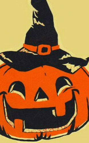 H32 Halloween Gift Tags//DIE CUT//32 Piece Vintage Style~Halloween Junk Journals