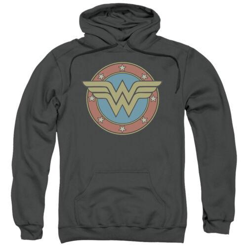 Wonder Woman WW VINTAGE EMBLEM Licensed Sweatshirt Hoodie