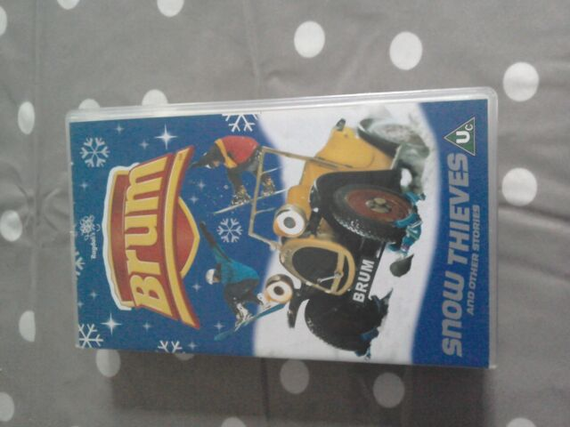 Brum - Snow Thieves And Other Stories (VHS, 2002)