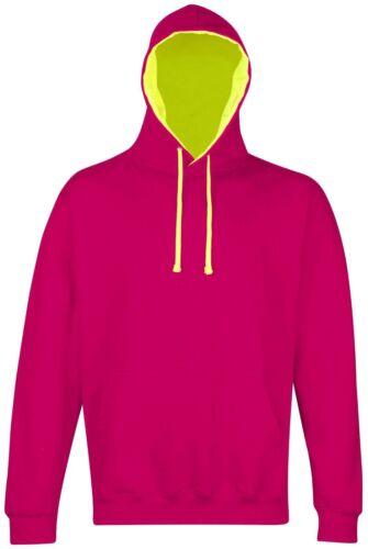 Super sweat à capuche JH013 femme//homme//femme idéal pour hiver couleurs fluo