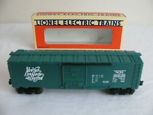 O Scale Model Railroads & Trains Nice O Scale Trains Lionel New York New Haven Box Car 16238