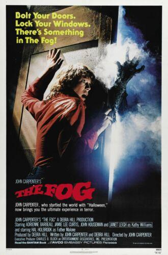"THE FOG Movie Silk Fabric  27/""x40/"" Poster 1980 John Carpenter"