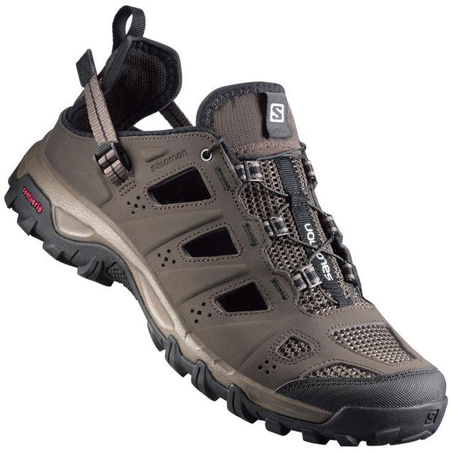 7a742719bb78 Salomon EVASION Cabrio Mens Brown Grey Walking Hiking Sandals Summer ...